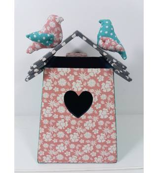 M&S Bird House Patterned Wall Hanging