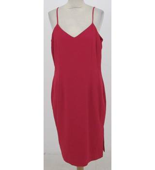 NWOT M&S Marks & Spencer - Size: 14 - Raspberry Red - Slip dress