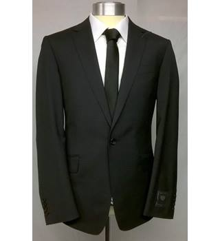 & Spencer Luxury saville row inspired charcoal jacket chest 40  M&S Marks & Spencer - Size: M - Grey - Double breasted blazer