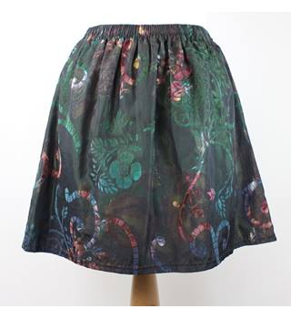 Nereus London - Size: S - Dark emerald green - Mini skirt