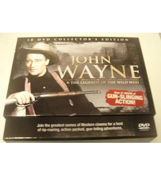 John Wayne & The Legends Of The Wild West (10 DVD Collectors Edition Set) Uc