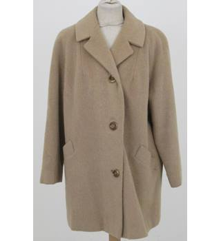 Lionel Norman - Size: XL - Camel single breasted - Casual coat