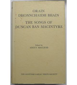 The Songs of  Duncan Ban Macintyre