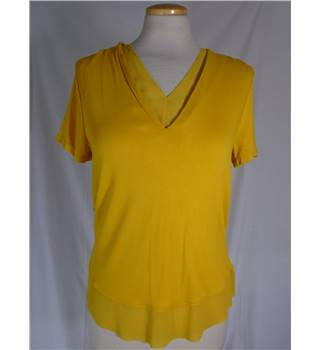 NWOT M&S Marks & Spencer - Size: 8 - Mustard Yellow - T-Shirt