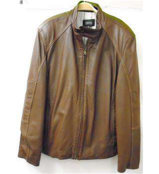 Arma Collection - Size: XL - Brown - Leather jacket