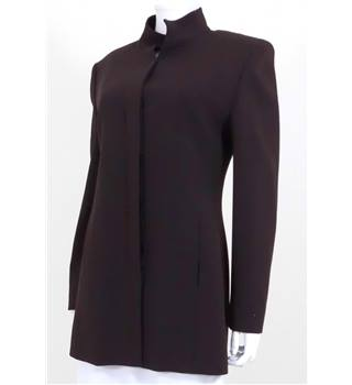 Max Mara Size: 10 Brown Tailored Jacket