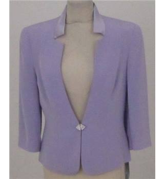 BNWT Invite size: 12 light purple short bolero smart jacket