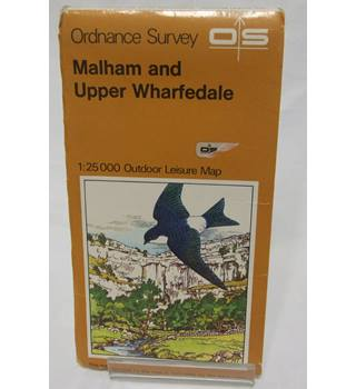 Ordnance Survey Malham and Upper Wharfedale