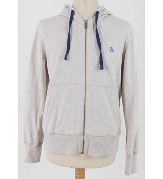 Penguin by Munsingwear Medium Cream  Zip Up Hoody