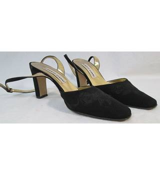 Roberto Vianni - Size: 6 - Black Strappy - Court shoes