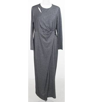 NWOT M&S Collection Size: 16 Silver long dress