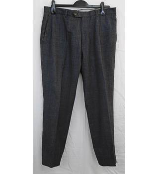 Dunhill blue wool trousers W 36 L 28.5
