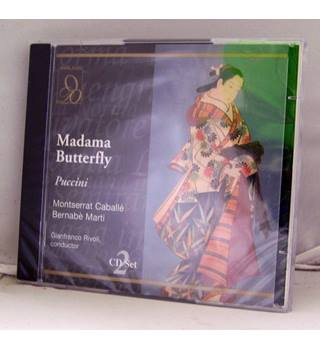 Mdame Butterfly - Puccini (1968 staging starring legendary Catalan soprano Caballe new sealed 2 CDs)