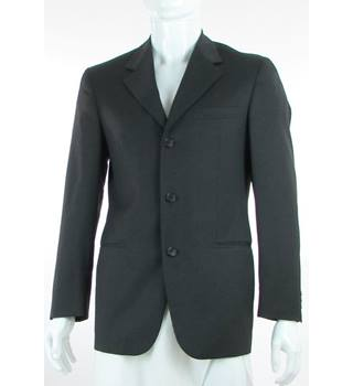 "Cerruti 1881 - Size: 36"" - Dark Grey - Wool Single Breasted Jacket"