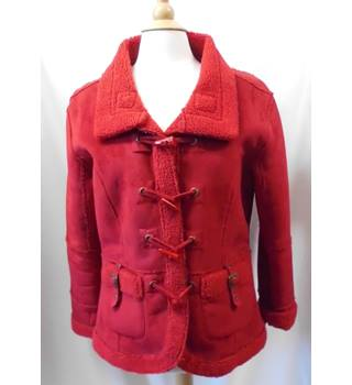 Cotton Traders - Size: 14 - Red - Casual jacket / coat
