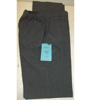 M&S Marks & Spencer - Size: 3 - 4 Years - Grey - Trousers