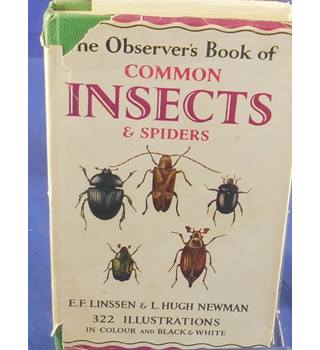 The Observer's Book Of Common Insects & Spiders