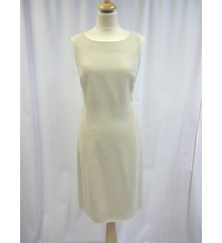 Max Mara - Size: 14 - Creamy Beige - Knee length dress