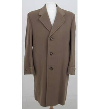 "Meakers of Piccadilly Size: Chest 40""  Beige Coat"