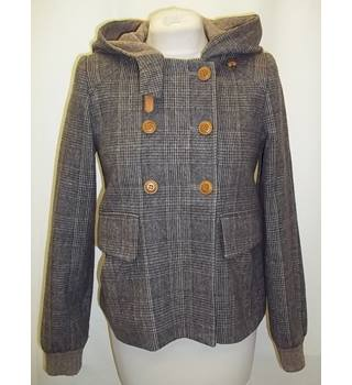 Vanessa Bruno - Size: 36 - Multi-coloured - Casual hooded jacket -  wool