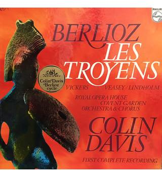 Berlioz - Vickers, Veasey, Lindholm, Royal Opera House Covent Garden Orchestra & Chorus, Colin Davis ‎– Les Troyens