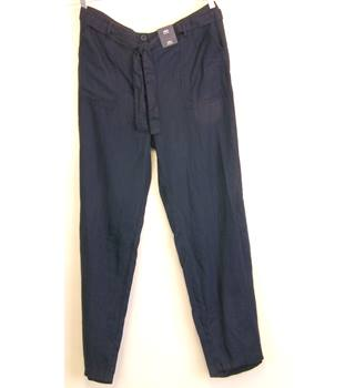 "M&S Marks & Spencer - Size: 40"" - Blue - Trousers"