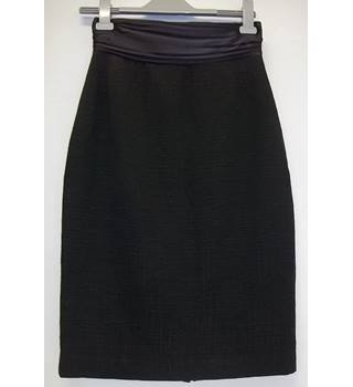 Elie Tahari - Size: 10 - Black - Pencil skirt - wool