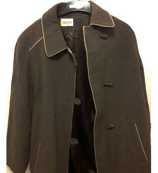 Eastex Brown Cashmere/Wool Coat - Size 14 Eastex - Size: 14 - Brown - Casual jacket / coat