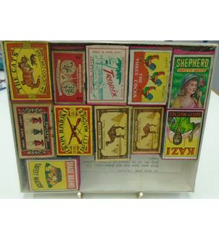 Match box Label Collectors Pack