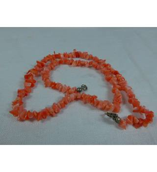 Coral-like necklace. Unbranded - Size: Small - Orange - Necklace