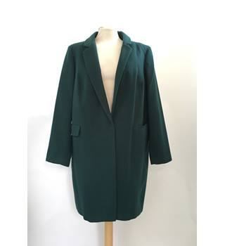 M&S Marks & Spencer - Size: 20 - Green - Smart jacket / coat