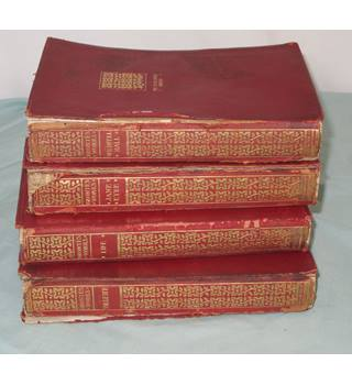 The Complete Works Of Charlotte Bronte And Her Sisters.  Four Volumes only of Seven
