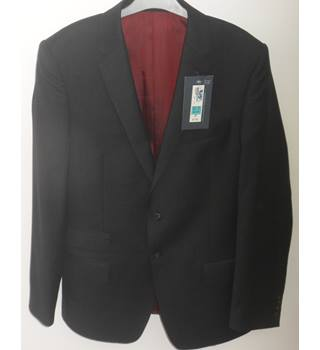 "M&S Marks & Spencer - Size: M - Black - Chest 40"" - Single breasted suit jacket"