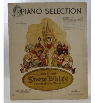 Snow White and the Seven Dwarfs - Piano selection.