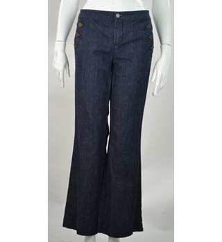 Tommy Hilfiger - Size: 10 - Faded Blue - Wide Legged Jeans