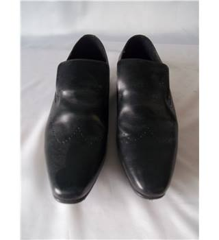 KG by Kurt Geiger Size 10 Black Leather Shoes