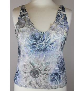 Anne Fontaine - Size: 2 - Grey/Blue - Sleeveless top
