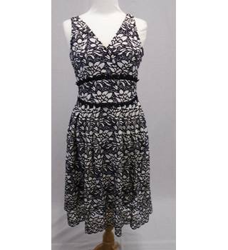 M&S Collection BNWOT - Petite Size 10 - Black & Cream - Dress