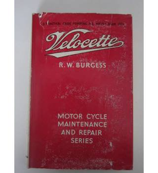 Velocette Motor Cycle maintenance and Repair Series