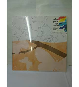 wilko paint your own canvas (L10)