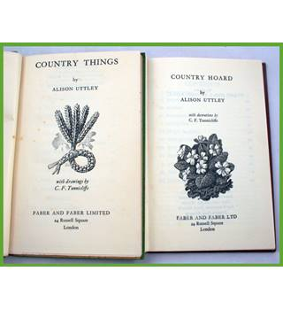 Country Hoard/ Country Things. A.Uttley.