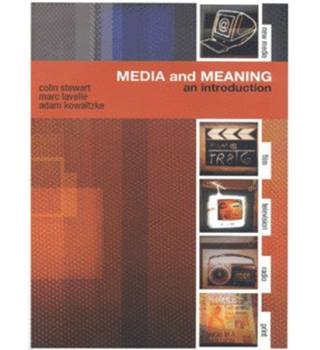 Media and meaning