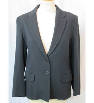Jigsaw - Size: 12 - Charcoal Grey Stripe - Smart jacket / coat