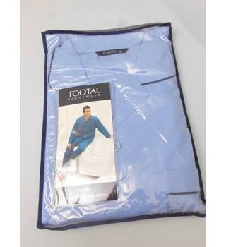 BNWT Tootal Size XXL Light Blue Cotton Blended Pyjames