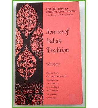 Sources of Indian Tradition.  Volume one.