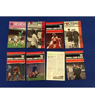 Football League Review. Various. 1966,