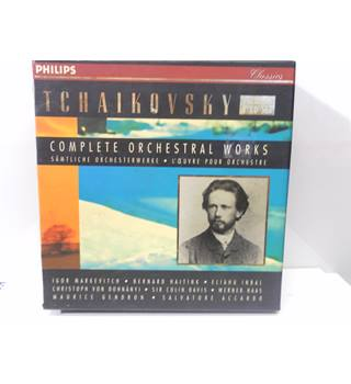 TCHAIKOVSKY  Complete Orchestral Works Vol 1 samtliche      l' oeuvre pour orchestre