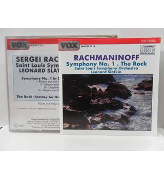 Rachmaninoff  Symphony No 1 The Rock Sain Louis Symphony Orchestra