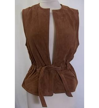 Zadig & Voltaire - Size: S - Brown - Casual sleeveless jacket