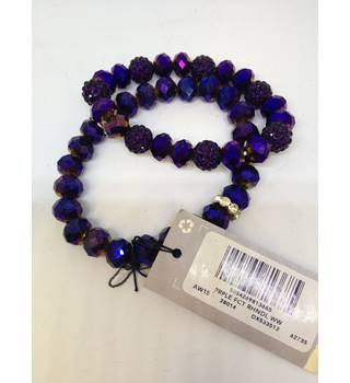 Brand new F&F Dark Purple Bangles